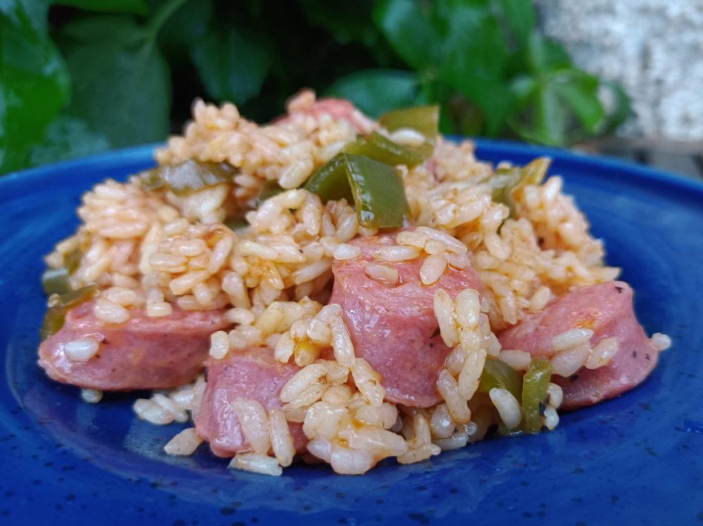 Receta arroz con longaniza